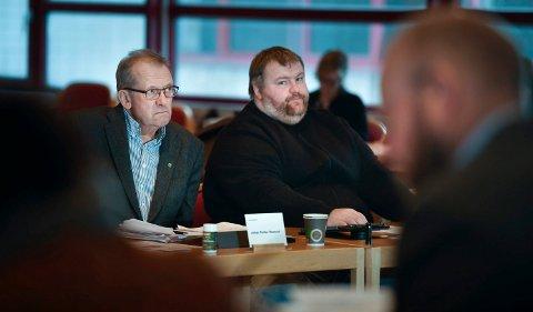 Rana kommune formannskapet. Budsjett og økonomiplanen for 2018- Johan Petter Røssvoll og Hans Myrnes.