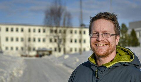 Engasjert: – Jeg er en rimelig engasjert fyr, sier nyvalgt leder i Rana kommunale foreldreutvalg, Vegar Alterås, om seg selv.