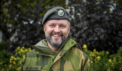 – Heldigvis blir Heimevernet stadig  oftere brukt. Tilbakemeldinga vi får, er at vi er lette og be og jobben vi gjør er god, sier områdesjef Morten Myrvang.