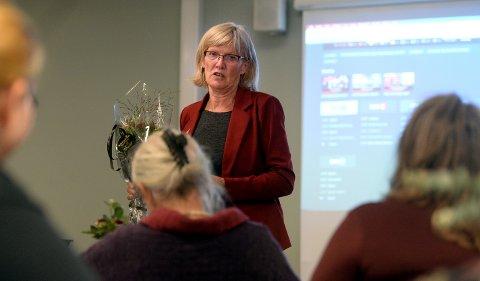 MÅ BLI MED: Karin Andersen ble ikke gjenvalgt på Stortinget. Men nå er det flere som ønsker at hun blir med inn i en ny rødgrønnregjering, dersom Ap, Sp og SV blir enige om en plattform.