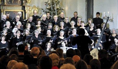 Ringerike vocalis med musikalsk følge ble møtt av fullsatt kirke i fjor.