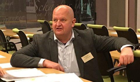 BEKYMRET: Ordfører Øystein Slette