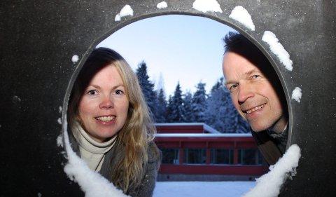 TAR DET MED ET SMIL: – Avslaget er uproblematisk, sier Hoppensprett-eierne Lise Kragset Furuseth og Paal-Mogens Furuseth.