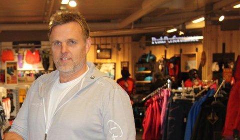 Rune Sandberg satser på de butikkene som gir inntjening.
