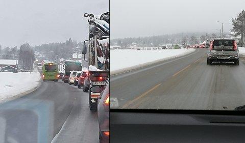 Fikk sparken: Bussjåføren ble sparket etter at RB konfronterte Unibuss med disse bildene.