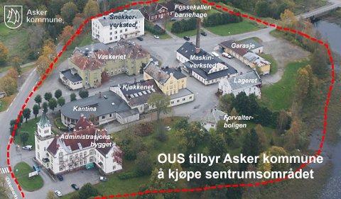 STORT OMRÅDE: Kommunedirektøren i Asker har tidligere pekt på flere muligheter for næringsutvikling i området.