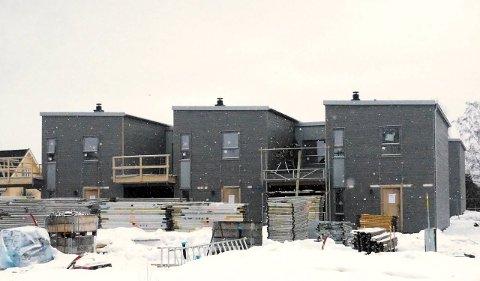 Utvikling: Det bygges på Breivolltunet. Alle foto: Svein-Ivar Pedersen