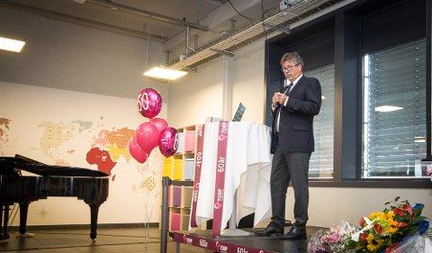TURBULENS: Styreleder Bjørn Walle brukte flyspråk da han skulle beskrive tiden Torp Sandefjord lufthavn har vært gjennom. Og det er ikke over ennå.