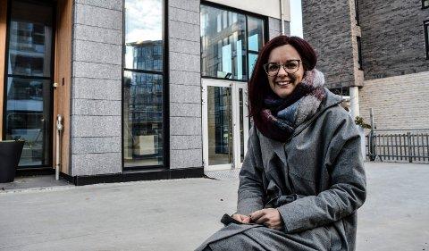 KIROPRAKTOR: Over nyttår åpner Marianne Myhre Sannes i de tidligere visningslokalene til DNB Eiendom i høyblokka i Kilen.