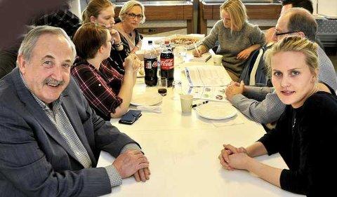 Gleder seg: Harald Rønneberg og Ina Tangen ser frem til å se hvilke forslag som kommer fra medborgermiddagene.