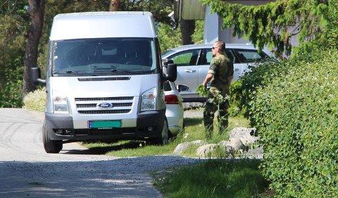 Politiet og forsvaret har samarbeidet om aksjonen i Rakkestad.