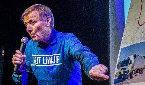 Per Olaf Toftner (bildet) roser jernbanedirektør Kirsti Slotsviks utspill  forrige uke. (Foto: Johnny Helgesen)