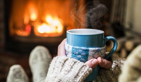 Høsten er tiden for å slenge seg opp i godstolen med en god kopp te og litt peiskos.