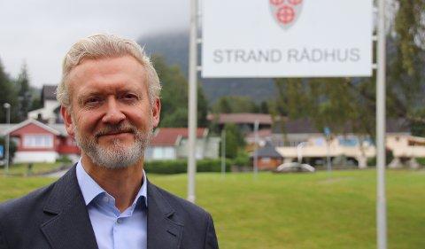 BRA FOR STAVANGER: Rådmann i Strand, Ketil Reed Aasgaard, sier det er hyggelig for Stavanger, men kjedelig for Strand at flere av kommunens kommunalsjefer har fått jobber på andre siden av tunnelen. (Arkivfoto)