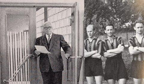 ETTER KRIGEN: Georg Marlow Graham heldt fram å arbeide på Stålverket, medan sonen Billy mellom anna spelte for Staal.