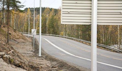 FORTAU: Det er blitt anlagt et nytt fortau og Fergeveien har fått en oppstramming, etter av VFK og Svelvik spleiset. Illustrasjonsfoto