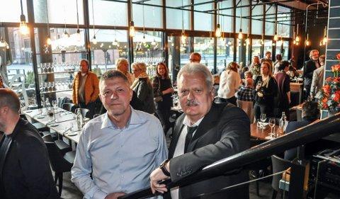 Fredag åpnet Robert Lind og Frank Aarak sin 11 restaurant.