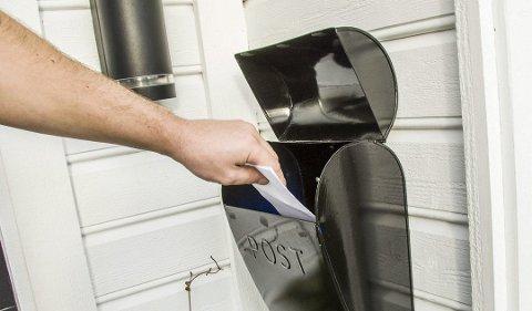 IKKE HVER DAG: I framtiden kan det ende med at posten bringes ut ukentlig.