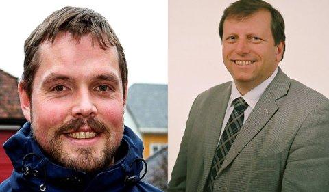 UENIGE: Finn Arild Bystrøm (med skjegg) mener at et felles Nav-kontor i Vest-Telemark bør ligge i Seljord. Ellers kan de like godt samarbeide med Midt-Telemark. Kristian Espeland mener Bystrøm uttaler seg uten politisk ryggdekning.