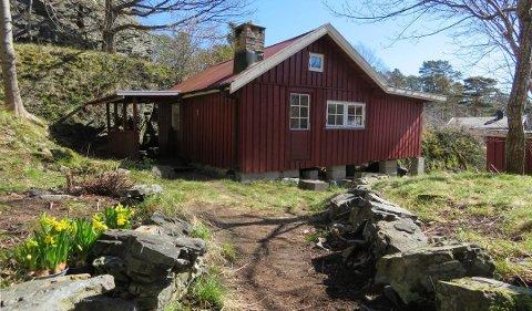 POPULÆR HYTTE: Den lille hytta i Kjerrvik i Langesund skapte stor interesse.