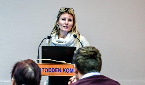 SLAGKRAFT: - Vi må ha politisk slagkraft for felles samfunnsinteresser og verdiskaping, sa Annette Finnerud.