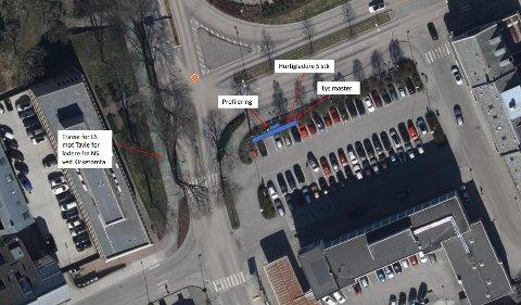 Kongens Plass: Planer for hurtigladestasjon.
