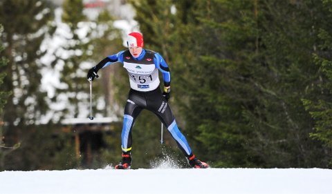 Linus Engdal ble nummer to i 17-årsklassen i Rindalsrennet.