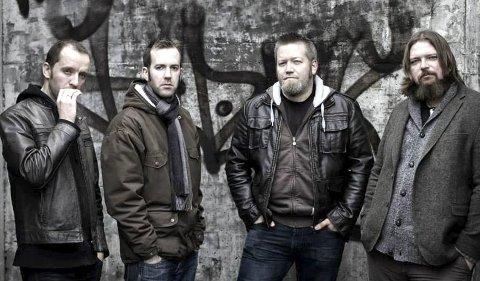 Bandet Nan Madol: Fra venstre: Christoffer Iversen, Kristian Ring, Kolbjørn Enge og Pål Isdahl Solberg. FOTO: ESPEN WINTHER