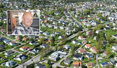 SIER NEI: Øyvind Rygh har fått nok av truslene mot den historiske bebyggelsen på Teie.