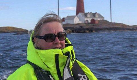 DET MESTE: – Ut fra det vi vet er det meste av det verste langs skjærgården i Tjøme ryddet, sier leder i Færder fyrs venner, Rita Sundseth Eriksen.