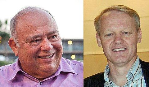 Kåre Johan Smith og Bernt Aksel Larsen Foto: Dorothy Mae Vedvik/Privat