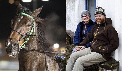 SKJER SJELDEN: - Det er ikke noe som skjer mange ganger i løpet av livet, sier Stokke-mannen Geir Nordbotten, her avbildet sammen med Karolina Westling.