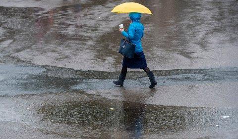 PÅSKEVÆR: – Det er rett og slett ustabilt vær i påska, sier vakthavende meteorolog Haldis Berge hos Meteorologisk institutt.