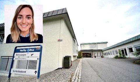 TIL VESTBY: Ingeborg Berg Nilssen (27) kommer fra stillingen som psykolog ved Helgelandssykehuset.