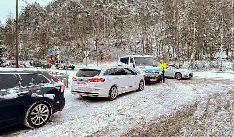 Det ble kaos i Bunnebakkene mandag. Foto: Ivar Ruud Eide
