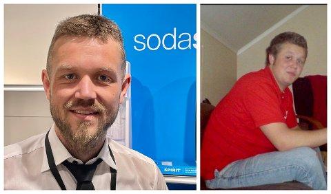 FORSKJELL: Lavrans Sanderud anno 2021  (til venstre) og for 15 år siden.