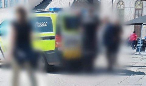 Mannen ble pågrepet av politiet ved Nobel-senteret i Oslo sentrum i juni i fjor.