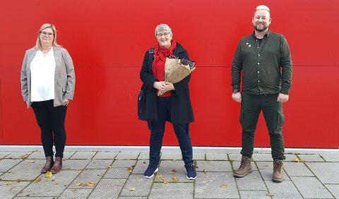Topp tre:  Line Karlsvik, Birgit Oline Kjerstad og Kim Thoresen Vestre.