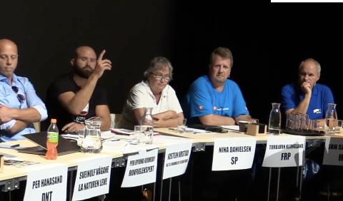 NEGATIVE: Under vindkraftdebatten i Spira tidligere i høst kom det frem at politikerne nå er negative til prosjektet på Skorveheia som de tidligere har sagt ja til.