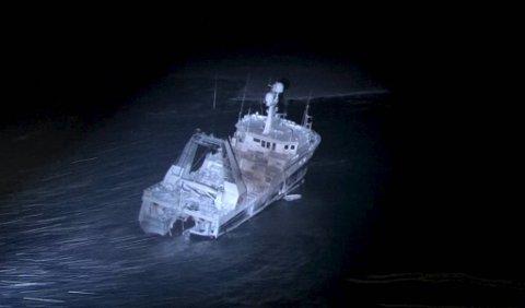 Fiskefartøyet fra Austevoll endte sine dager i ishavet på Svalbard.