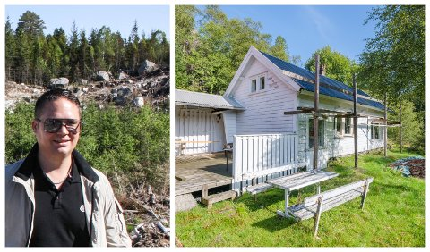 NY EIGAR: Hans Petter Bøgh Hafsø har kjøpt småbruket Hustoftdal.