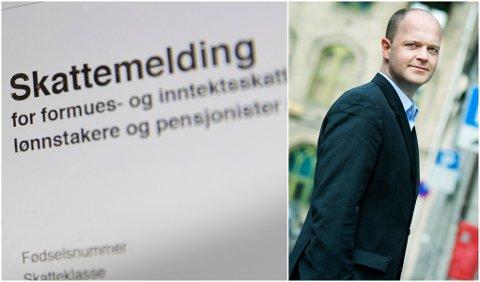 Fagsjef i Skattebetalerforeningen, Rolf Lothe forventer at mange får en ubehagelig overraskelse i år.