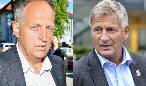 Olav Skinnes er fylkesvaraordfører i Buskerud. Tore Opdal Hansen er Høyres fylkesordførerkandidat.