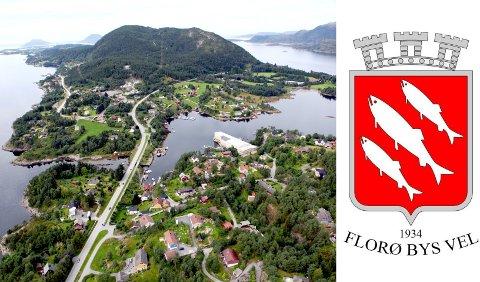 STARTAR HER: Florø by har vekse mykje på dei siste 160 åra. No ønskjer Florø Bys Vel at byen skal starte med Brandsøy når grensene skal definerast ein gong for alle i det siste bystyremøtet.
