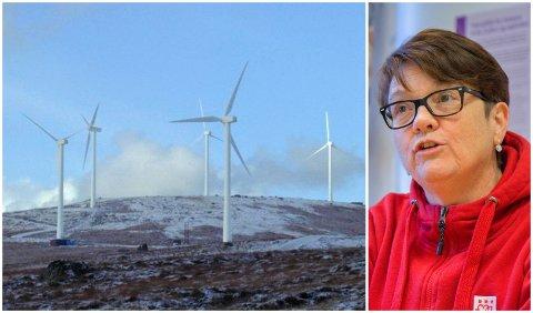 KAMPSAK: Ordførarkandidat i Bremanger, Anne Kristin Førde (Ap) hadde helst sett at motstanden til vindkraftanlegget på Bremangerlandet hadde kome i god tid før valet.
