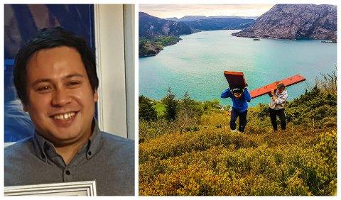 ENGASJERT: Trass sine 27 unge år kan Bårøy seiast å vere ein primus motor i lokalsamfunnet. I dei travlaste periodane driv han dugnadsarbeid i rundt 50 timar i snitt. I tillegg kjem jobben hos Sunnfjord Energi.