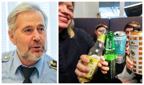 GI BESKJED: Har naboen fest? Då er det også stort sannsyn for at vedkommande bryt smittevernsreglane, noko politiet vil ha tips om, fortel politisjef Arne Johannessen.