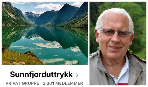 POPULÆRT: Å dele ulike ord og uttrykk frå Sunnfjord har fort blitt populært på Facebook.