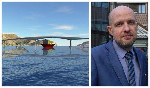 ÅTVARER: Frank Willy Djuvik åtvarer mot fylkesrådmannens innstilling der ein går inn for å utsetje bygginga av Atløysambandet i minst fire år.