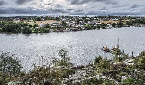 Rimeligst å bygge her: Å bygge en ny firefeltsbru fra Ombergfjellet til Torp er beregnet til 1,2 milliarder. Råbekken-Sandem er et annet hovedalternativ for ny bru. Arkivfoto: Geir A. Carlsson